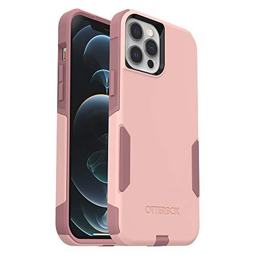 OtterBox Commuter Series Case for iPhone 12 Pro Max - Ballet Way (Pink Salt/Blush)