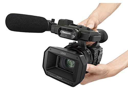 Panasonic HC-X1000 4K Ultra HD 60p/50p Professional Camcorder, 20x Optical Zoom,Black