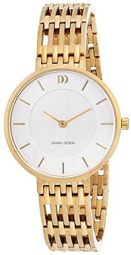 Danish Design dames analoog kwarts horloge met titanium armband 3326615