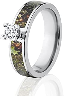 Mossy Oak Obsession Camo Engagement Ring w/ 1/2 CTW 14k Setting
