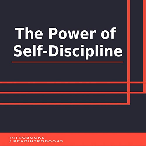 The Power of Self-Discipline audiobook cover art