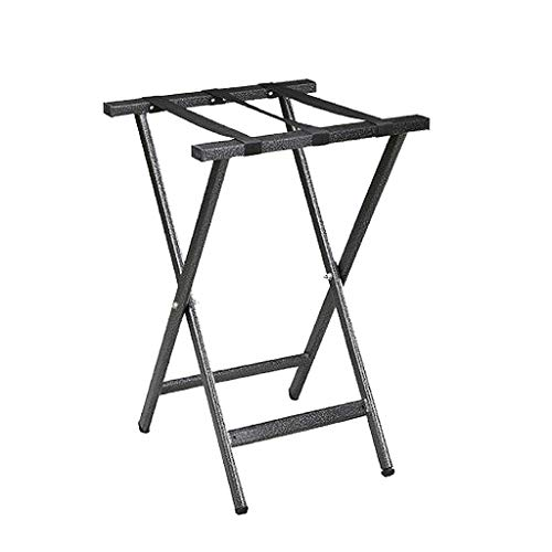 Find Bargain BLRYP Luggage Stand Hotel Luggage Rack Stainless Steel Storage Rack Folding Shelf Cloth...