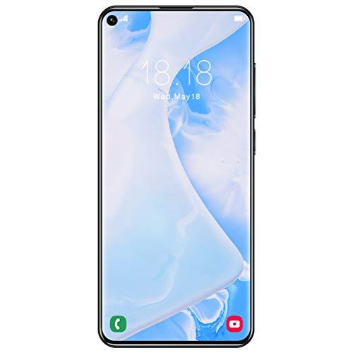 ZXYSR Rino 5 PRO Cellulari Economici 4G, Sblocco con Impronta Digitale Posteriore 18MP + 48MP Pixel Telefonia 8 GB + 64 GB Batteria da 5000 mAh Doppia SIM, Telefonino,Nero