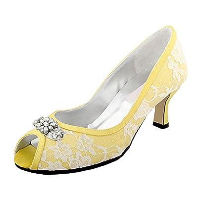 Comfortable Kitten Heel Wedding Shoes for Bride •