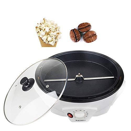 RURUI Kleine Haushalts-Kaffeeröstermaschine, Popcornmaschine, Temperatur Einstellbar, Multifunktion Coffee Roaster Mit Hoher Kapazität - 220 V / 1200 W