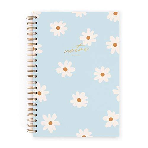 CHARUCA Cuaderno L. Floral blue. Puntos (CUAL13)