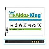 Akku-King Akku kompatibel mit Samsung EB-B500BE, EB-B500BU - Li-Ion 2100mAh - für Galaxy S4 Mini...