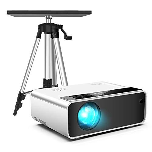 CiBest W13 Mini Projector + Tripod Stand