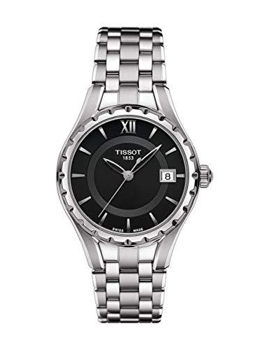 Tissot Reloj Analógico para Mujer de Cuarzo con Correa en Acero Inoxidable T072.210.11.058.00