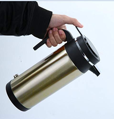 Auto elektrische verwarming beker, vacuüm-geïsoleerde automatische uitschakeling, reiswaterkoker voor water, thee, koffie, melk 12 V.