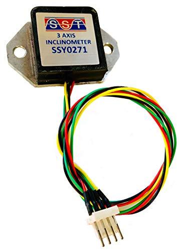 3 Axis Inclinometer | MEMS | Tilt Sensor | Wide Angular Range | Low Current (4.5mA) 4.5Vdc - 30Vdc Input | 2Hz Frequency Response | IP66 Housing | Industrial Aerospace Robotics Leveling