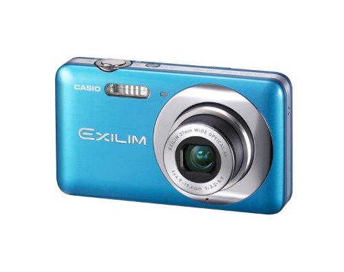 Casio Exilim EX-Z800 Digitalkamera (14 Megapixel, 4-fach opt. Zoom, 27mm Weitwinkel, 6,9 cm (2,7 Zoll) Display, bildstabilisiert) blau