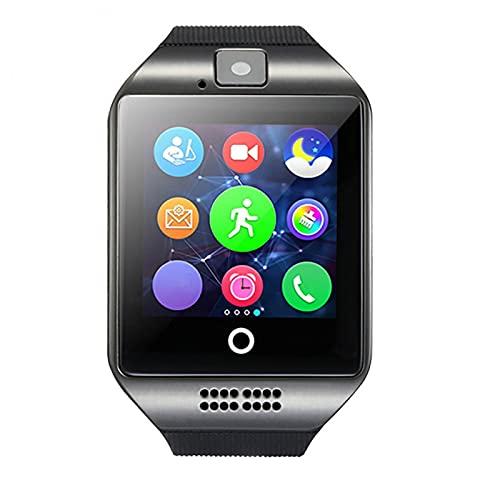 ZRSJ Touch Screen Smart Watch Camera Watch with Sim Card Slot Pedometer Fitness Tracker Children's Phone Watch(Tan)