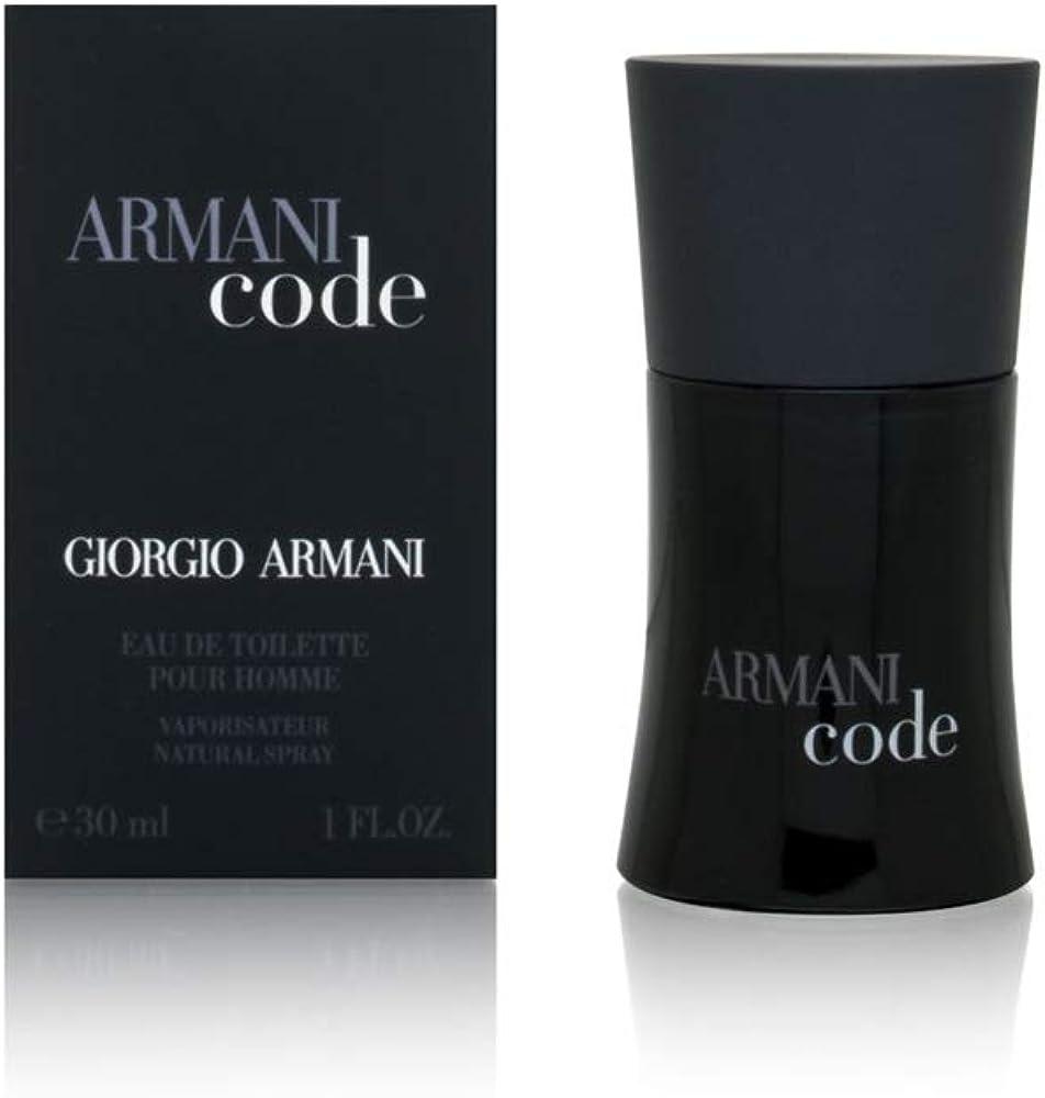 Giorgio armani code ,eau de toilette per uomo 30 ml 151763