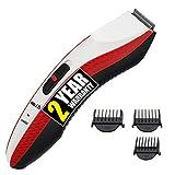 iBELL T8120 Stainless Steel Blade Beard Trimmer For Men(Red & Black)