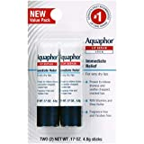 Aquaphor Lip Repair Stick - Soothes Dry Chapped Lips - Two(2) .17 Oz. Sticks...