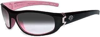 Harley-Davidson Curve LA Grey Lens w/Cotton Candy Frame Sunglasses HDCUR05