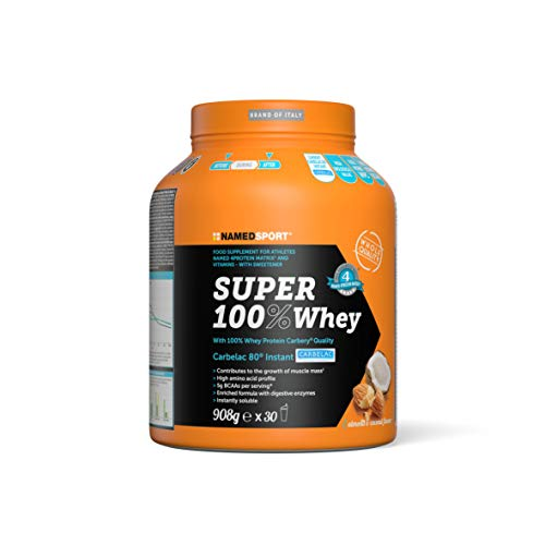 NamedSport Super 100% Whey 908g Coco-Almendra