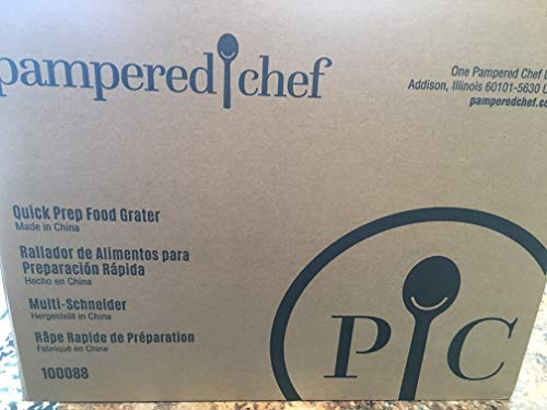 PAMPERED CHEF QUICK PREP FOOD GRATER. # 100088 - JUST RELEASED 2019