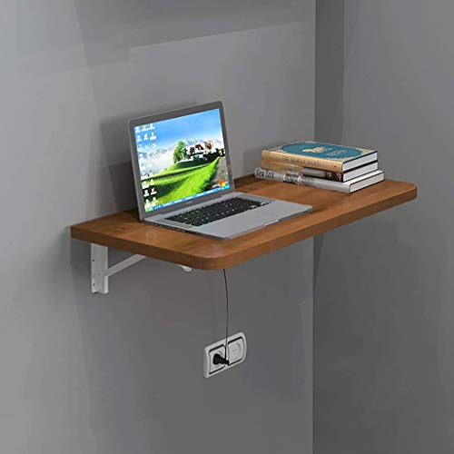 WYBD.Y An der Wand montierter Klapptisch, hochklappbarer Klapptisch aus Holz, Büro-Computer-Schreibtisch-Werkbank für die Wohnküche in der Waschküche