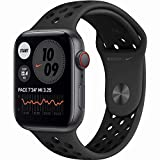 Apple Watch SE Nike Aluminium 44mm Cellular SpaceGrau (Sportarmband anthrazit/sw