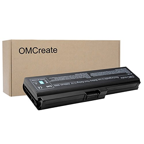 OMCreate Battery Compatible with Toshiba PA3817U-1BRS PA3819U-1BRS Toshiba Satellite C655 L600 L675 L675D L700 L745 L750 L750D L755 L755D M640 M645 P745 Series