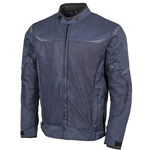 BSTAR Chaqueta Moto de Verano Lem AIR Azul para Hombre (54, x_l)