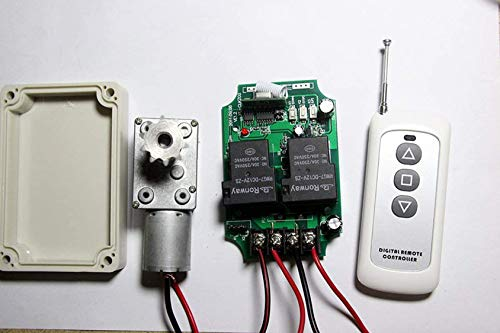 Control de motor universal de 12 V CC, mando a distancia de la potencia alta,motor lineal de 30 A hacia atrás, control remoto por control remoto de PUMPE, control de puerta de persianas