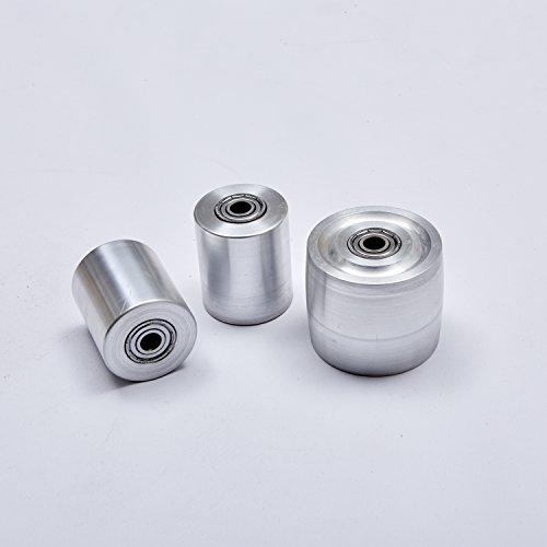 Bandschleifer, Rad-Set, Messerschleifer, 2 x 72 Zoll, 3 Stück