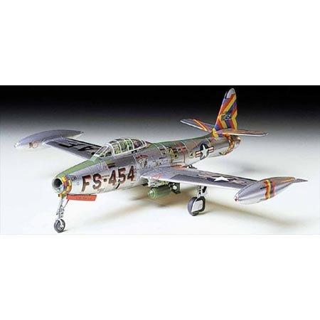 タミヤ 1/72 ウォーバードコレクション No.45 アメリカ空軍 リパブリック F84-G サンダージェット プラモデ...