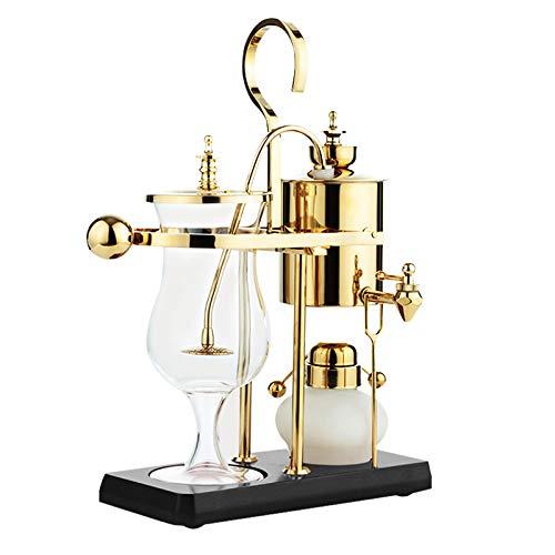 Royal Belgian Coffee Maker Home Belgischer Topf Siphon-Stil Kaffeemaschine manuelle Braugeräte Set