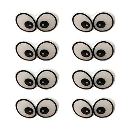 LIXBD Juego de ojos y narices de plástico de seguridad para muñeca marionetas de peluche y oso de peluche 100 piezas