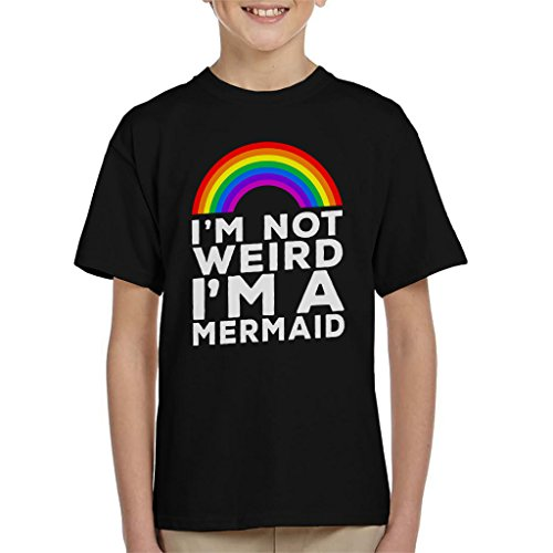 In Not Weird In A Mermaid Kid's T-shirt