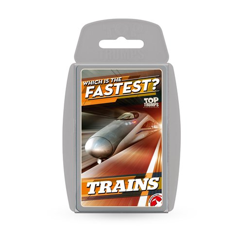Winning Moves 14889 Top Trumps-Trains
