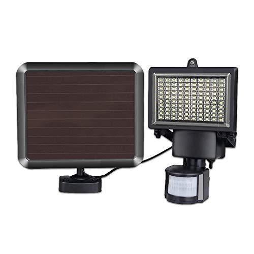 Solarleuchten, Geteilte Scheinwerfer, Mit 4,5 M Netzkabel,Mit Bewegungssensor, 100 Led-Gartenleuchten, 800 Lumen, Ip44 Wasserdicht, 360-Grad-Einstellung, Geeignet FüR Garagen, GäRten, Sonnenlicht