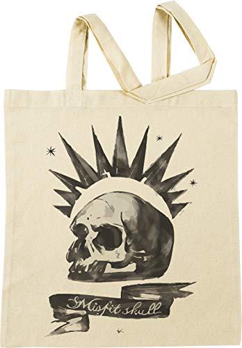 Vendax Chloes Shirt - Misfit Skull Beige Bolsa De Compras