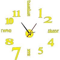 北欧モダンミニマリスト DIY 壁時計アクリル壁時計壁のリビングルームの装飾 37 インチ