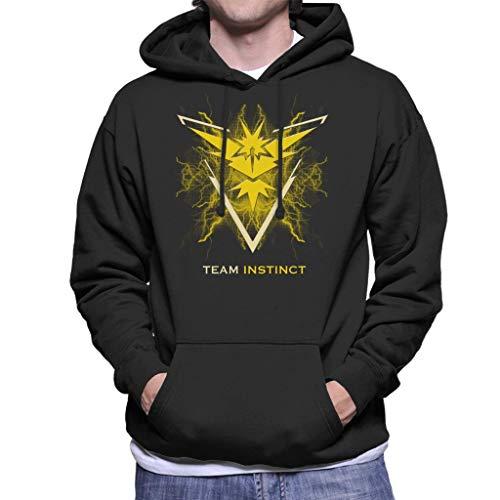 Cloud City 7 Go Team Instinct Electric Logo Men's Hooded Sweatshirt
