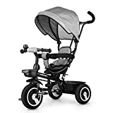 Fascol Dreirad 6 in 1 Kinderdreirad Kinder Fahrrad Baby Kleinkinder