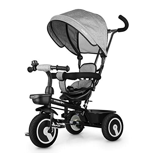 Fascol Tricycle Bébé Evolutif, 7 en 1 Tricycle Enfant avec...