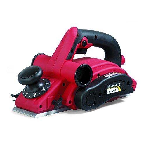 Stayer 1.5565 Cepillo PROFESIONAL de 910w P 910, Rojo Negro