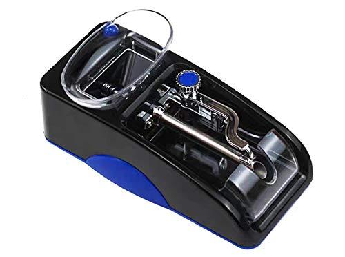New Top Electric Cigarette Tobacco Rolling Automatic Roller Maker Mini Machine Injector Machine (Blue)