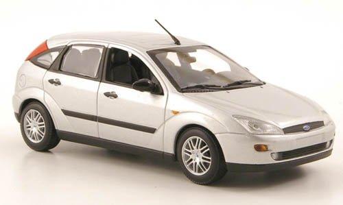 Ford Focus, silber, 5-Türer, 2002, Modellauto, Minichamps 1:43