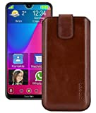 Suncase Real Leather Case Slim Edition Compatible with