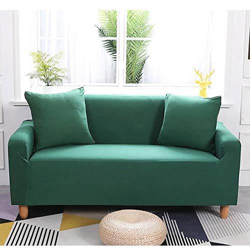 Funda para sofá (impermeable, elástica, 235 x 300 cm), color verde