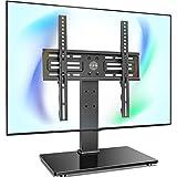 FITUEYES テレビスタンド 27~55インチ対応 耐荷重40kg 壁寄せテレビスタンド テレビ台 高さ調節可能 TT103701GB