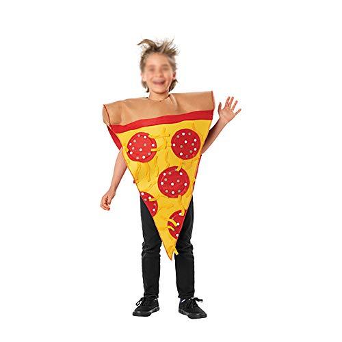 HAIYANG Kinder Pizza Kostuum Cosplay Party Kostuum Props voor Halloween Cosplay Party Kerst Bachelor Party