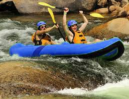 Hardcore Water Sports Inflatable 2 Person Whitewater Kayak