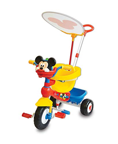Kiddieland Disney Mickey Mouse Clubhouse Deluxe Push N Ride Trike