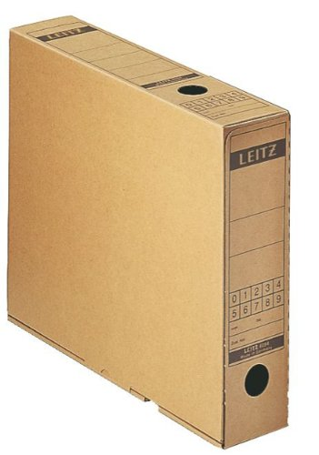 Leitz 6084 - Archiv-Schachtel 6084 A4 10-er 7 x 32, 5 x 26, 5 cm